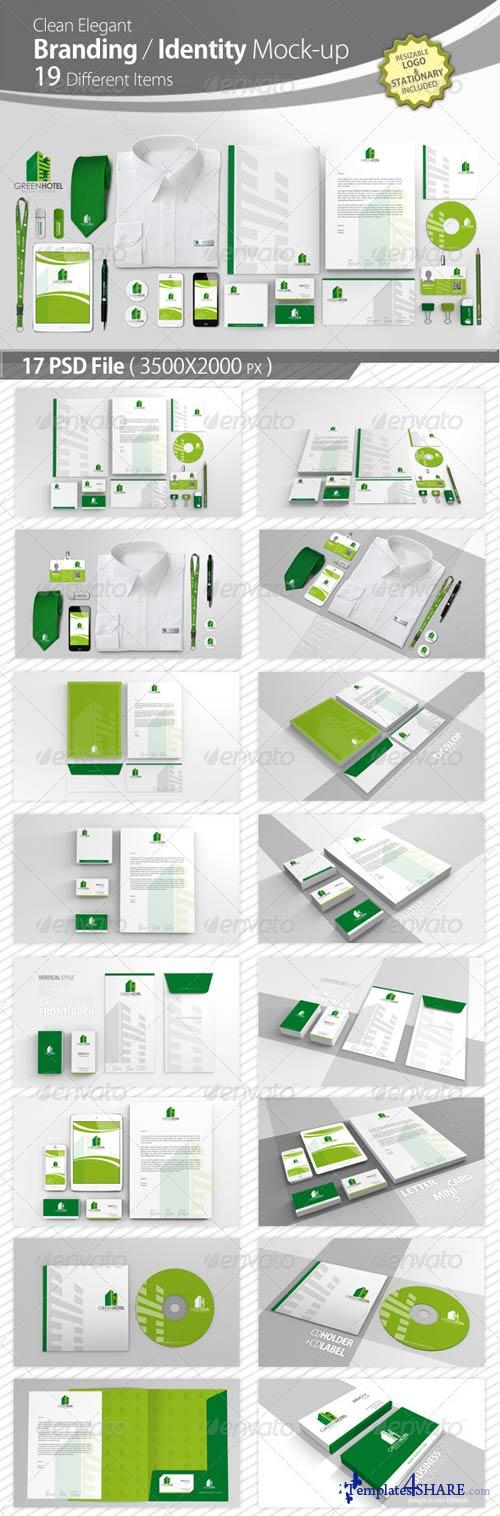 GraphicRiver Branding / Identity Mock-up 4450939
