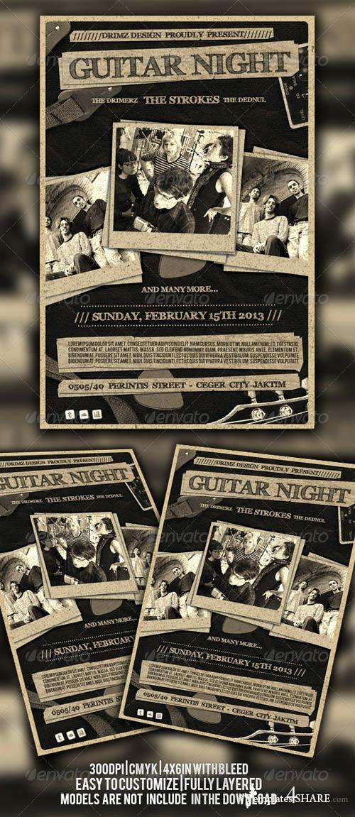 GraphicRiver Indie Flyer