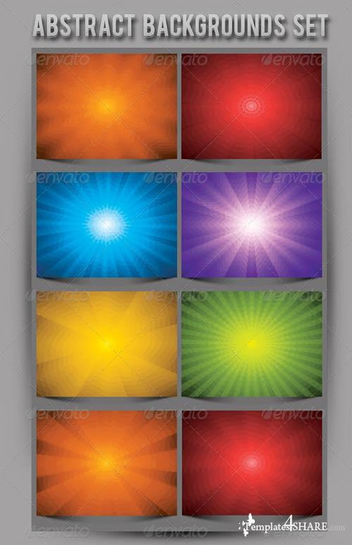 GraphicRiver Abstract Backgrounds Set