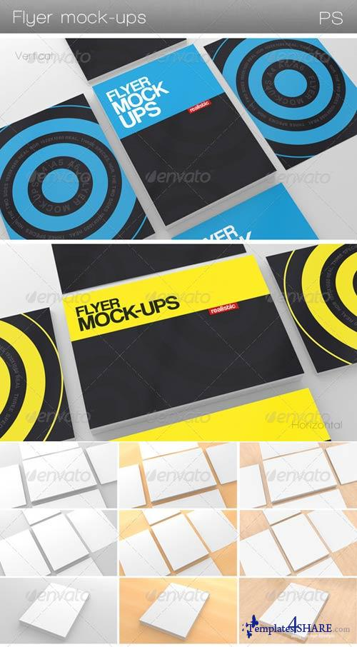 GraphicRiver Flyer Mock-Ups