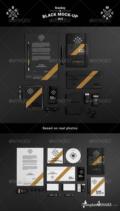 GraphicRiver Branding / Identity Mock-Up 4473523