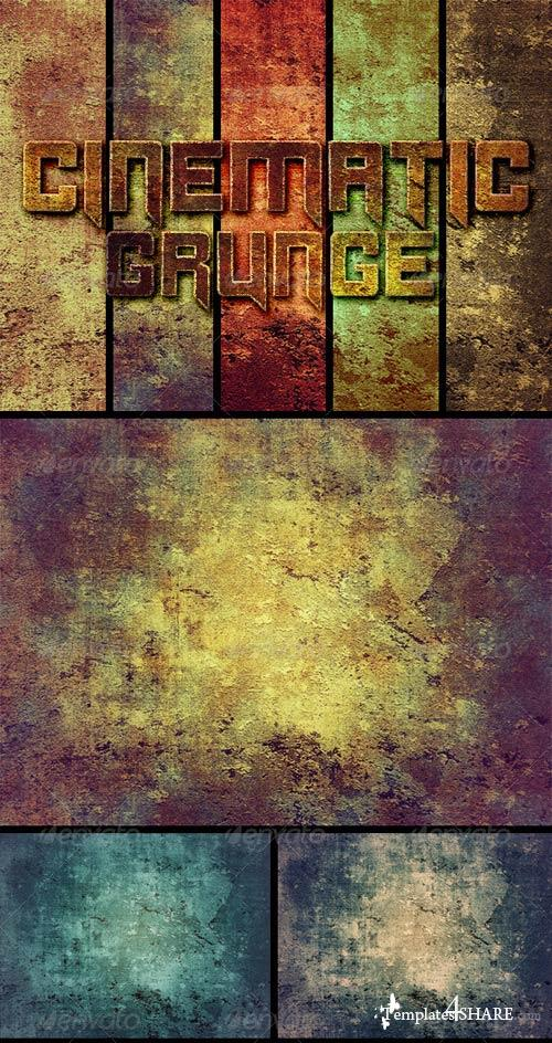 GraphicRiver 32 Cinematic Grunge Backgrounds