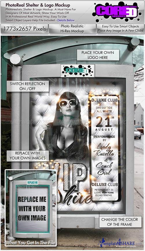 GraphicRiver Logo & Poster Mockup