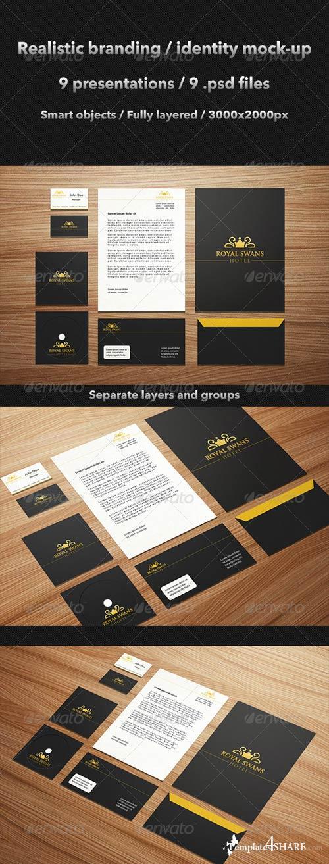 GraphicRiver Realistic Brand / Identity Mock-Up
