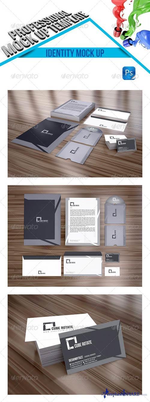 GraphicRiver Stationery Branding Mock-Up v2
