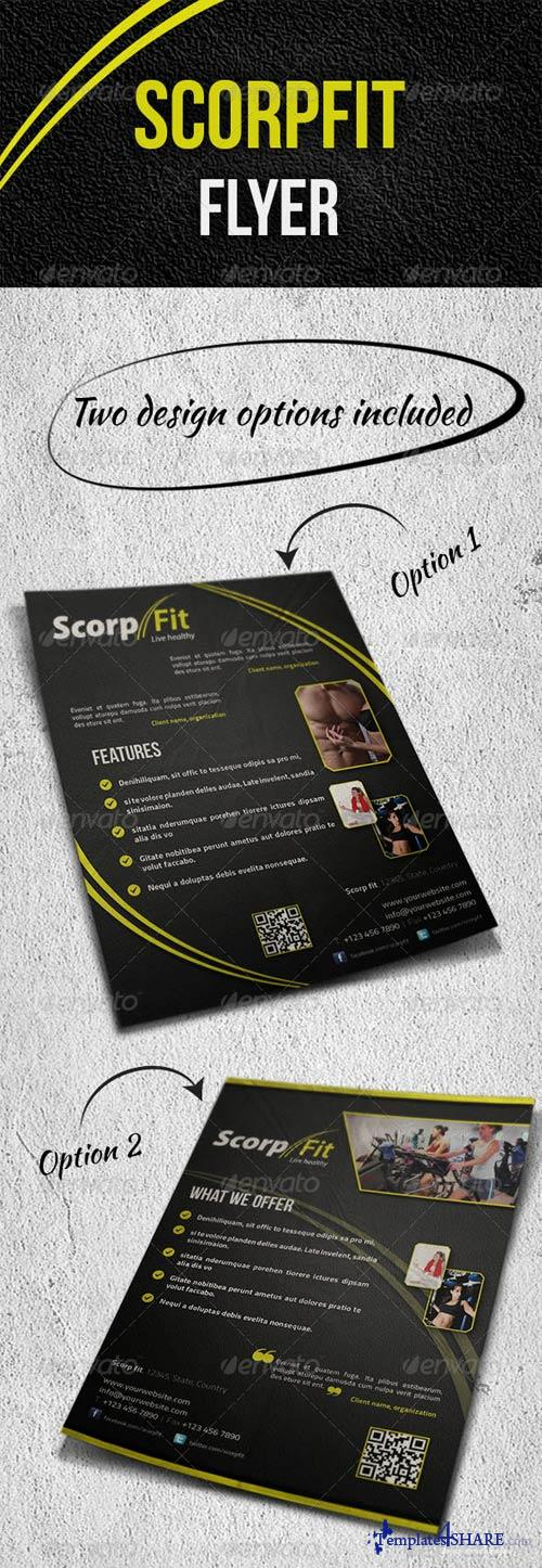 GraphicRiver Scorpfit Flyer