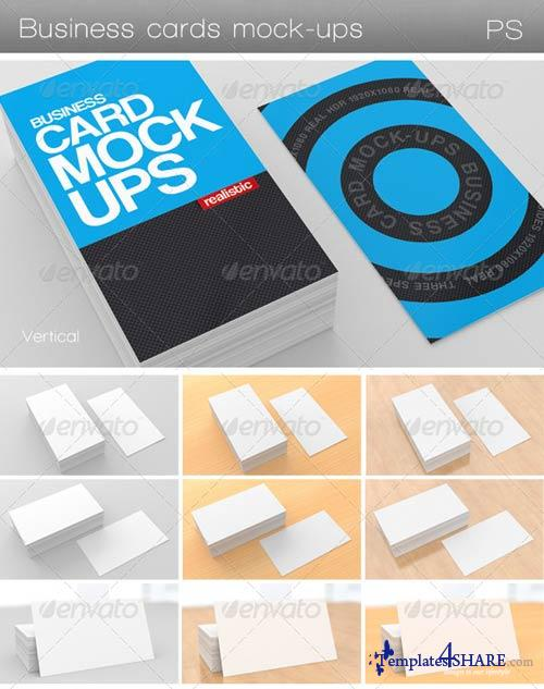 GraphicRiver Business Card Mock-Ups
