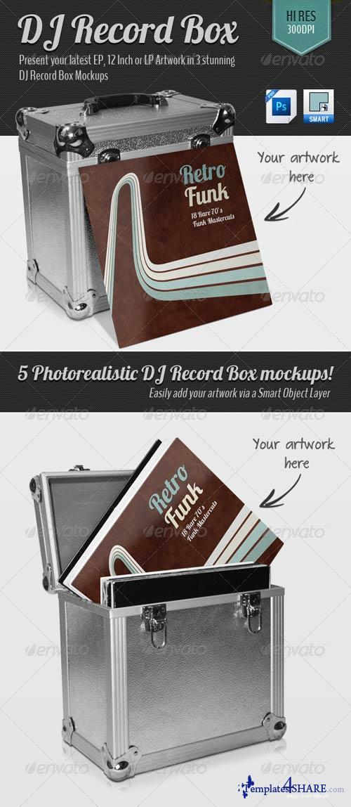 GraphicRiver DJ Record Box