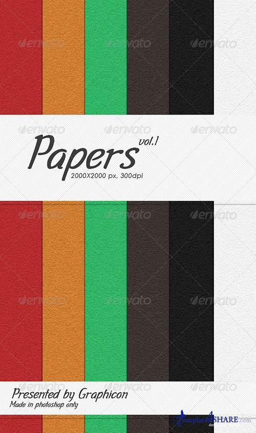 GraphicRiver Papers Pack