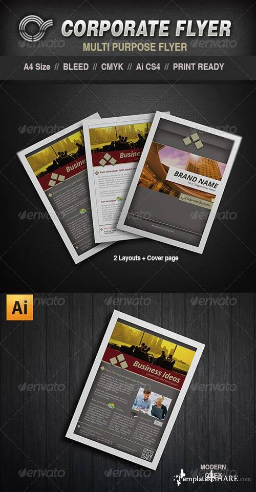 GraphicRiver CS Corporate Flyer