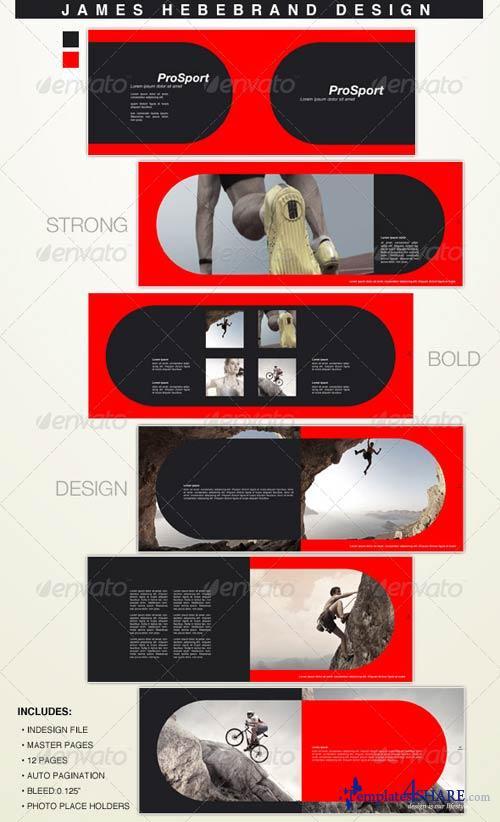 GraphicRiver Pro Sport 12 Page Brochure