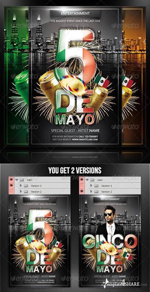 GraphicRiver Cinco De Mayo - Flyer/Poster Template