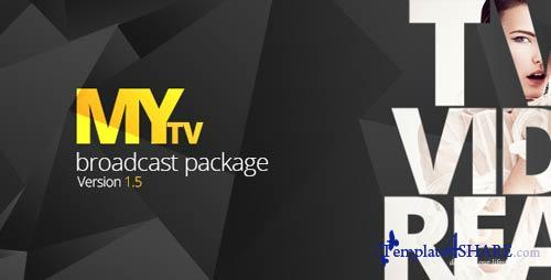 My TV Broadcast Package - After Effects Project (Videohive)