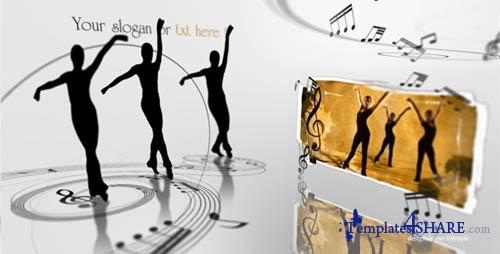 Ellegant Ballet Dancers Video display presentation - After Effects Project (Videohive)