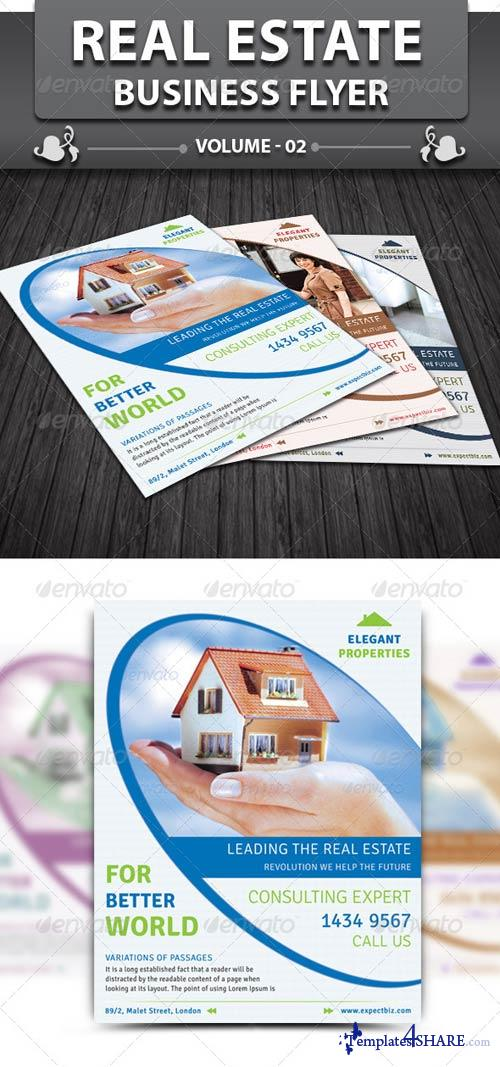 GraphicRiver Real Estate Business Flyer v2