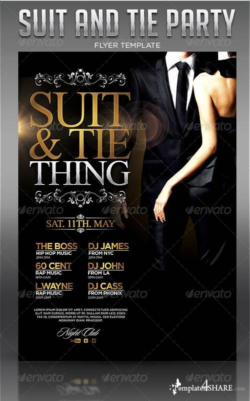 GraphicRiver Suit and Tie