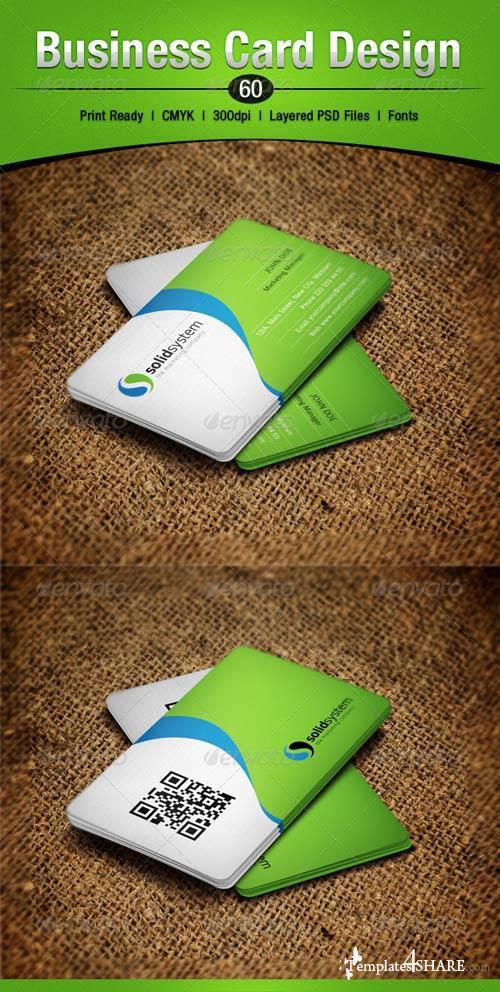 GraphicRiver Business Card Design 60