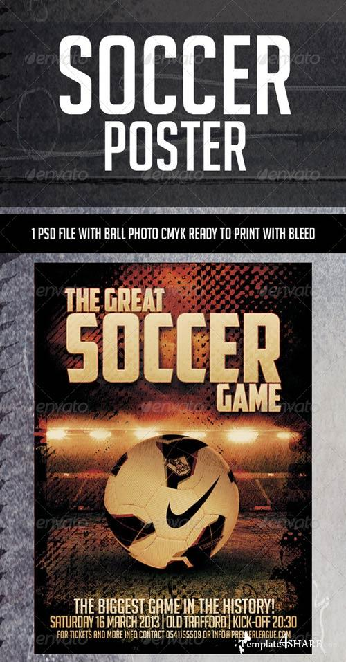 GraphicRiver Soccer Poster