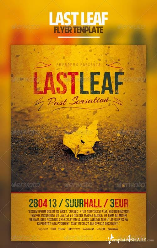 GraphicRiver Last Leaf Flyer Tamplate