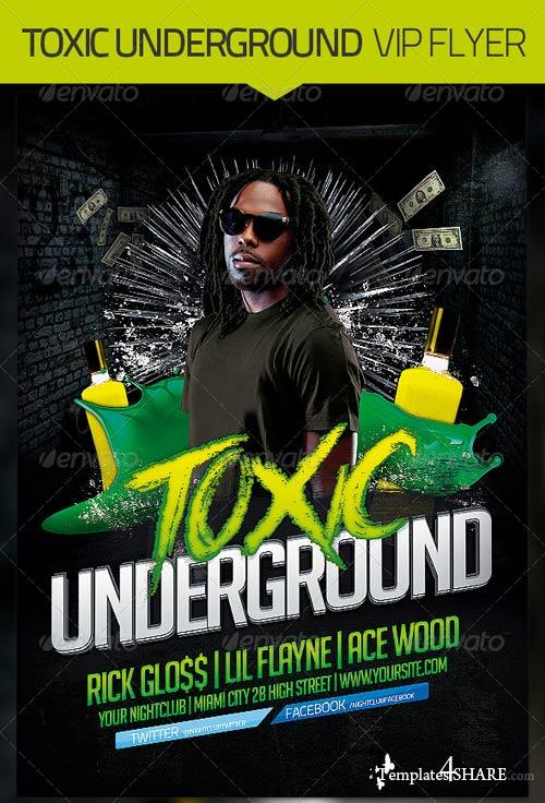 GraphicRiver Underground Flyer Template
