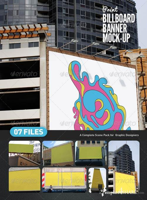 GraphicRiver Billboard | Banner Mock-Up