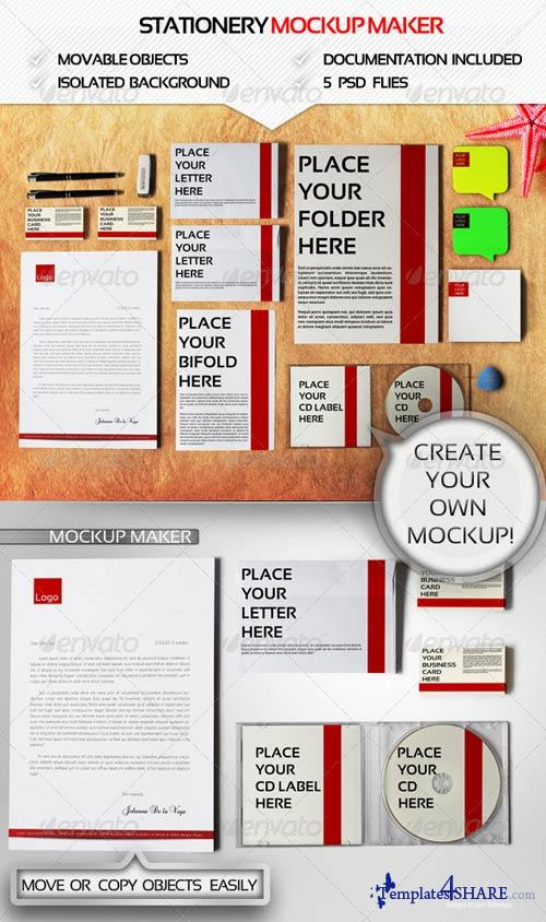 GraphicRiver Branding Mockup Maker