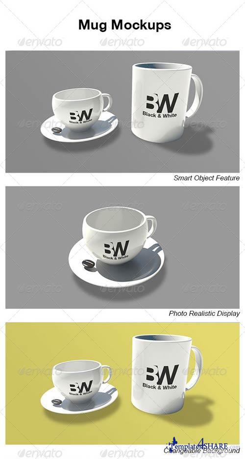GraphicRiver Mug Mockups