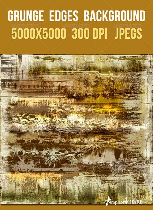 GraphicRiver Grunge Edges Background