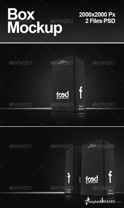 GraphicRiver Box Mockups