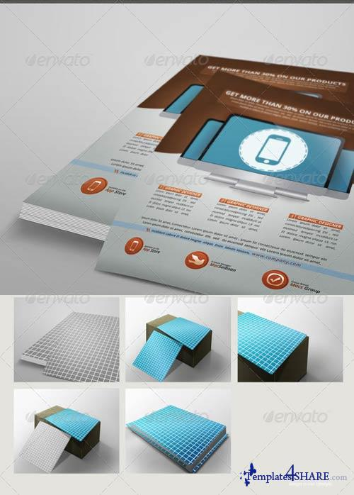 GraphicRiver Flyer Mockup Pack 2