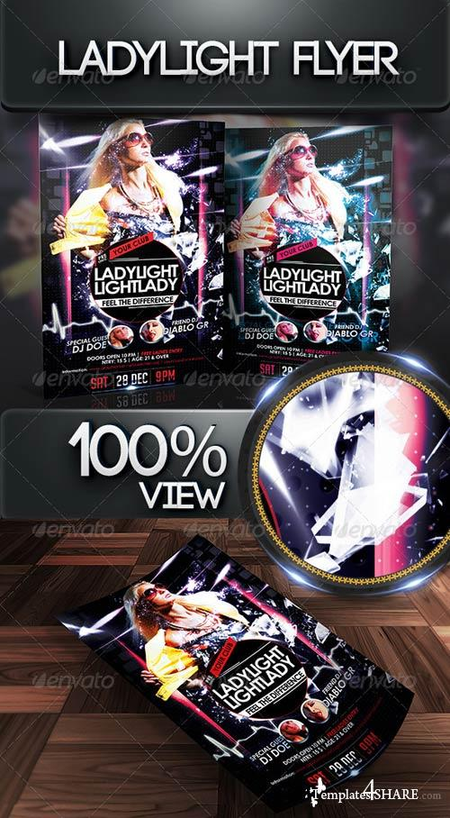 GraphicRiver Ladylight Flyer Template