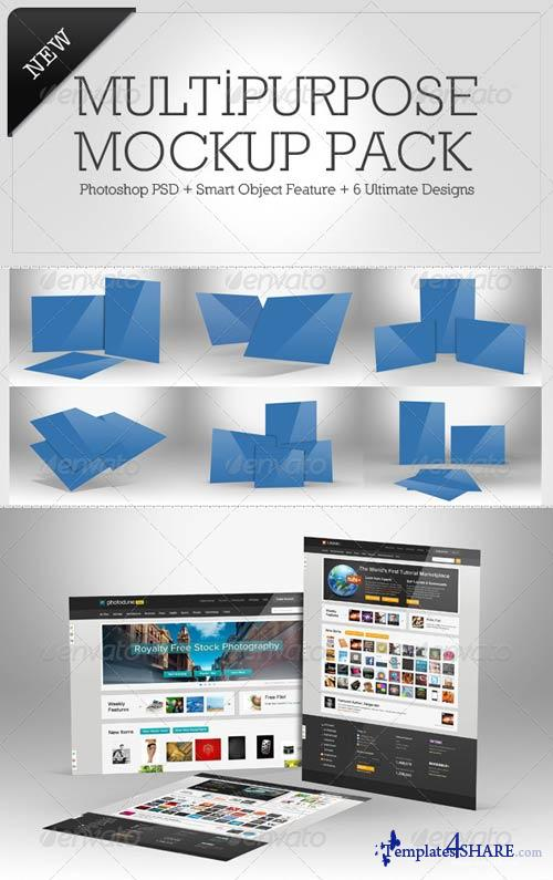 GraphicRiver Multipurpose Mockup Pack 4