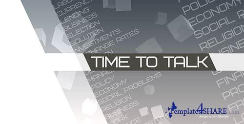Time to talk (Broadcast Pack) - After Effects Project (Videohive)