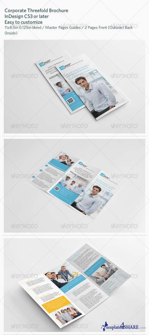 GraphicRiver Corporate Threefold Brochure