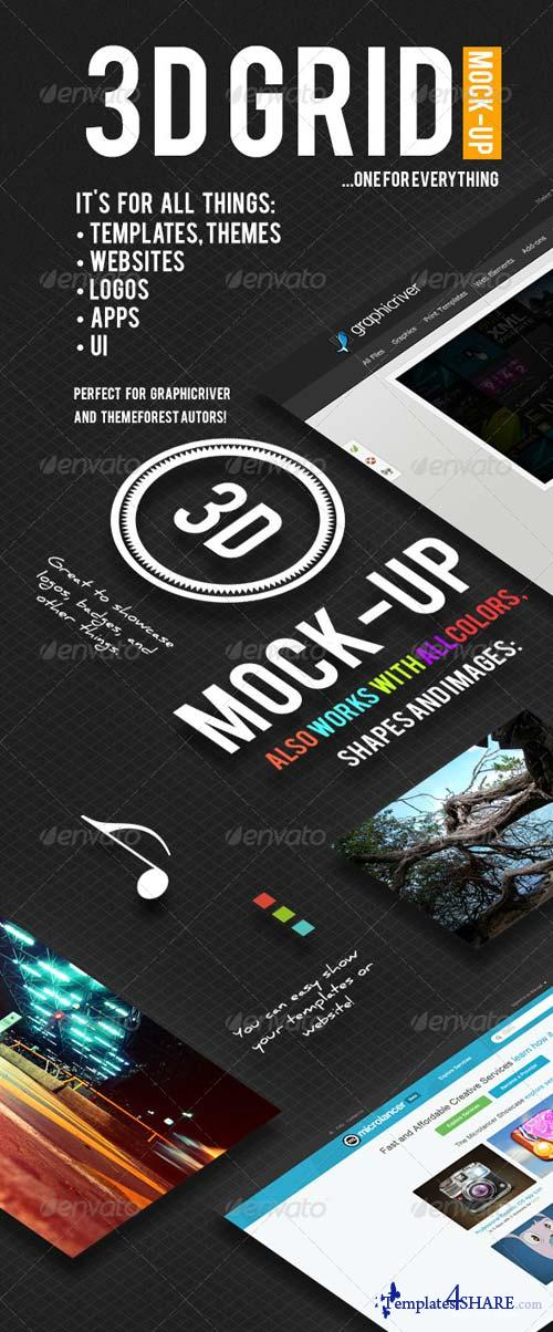 GraphicRiver MultiGrid - Mock-Up For Everything