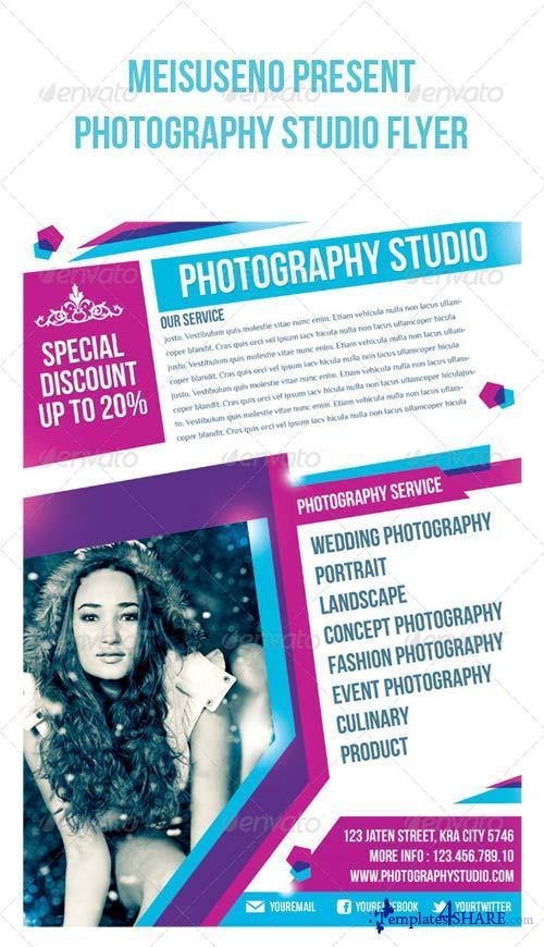 GraphicRiver Photography Studio Flyer