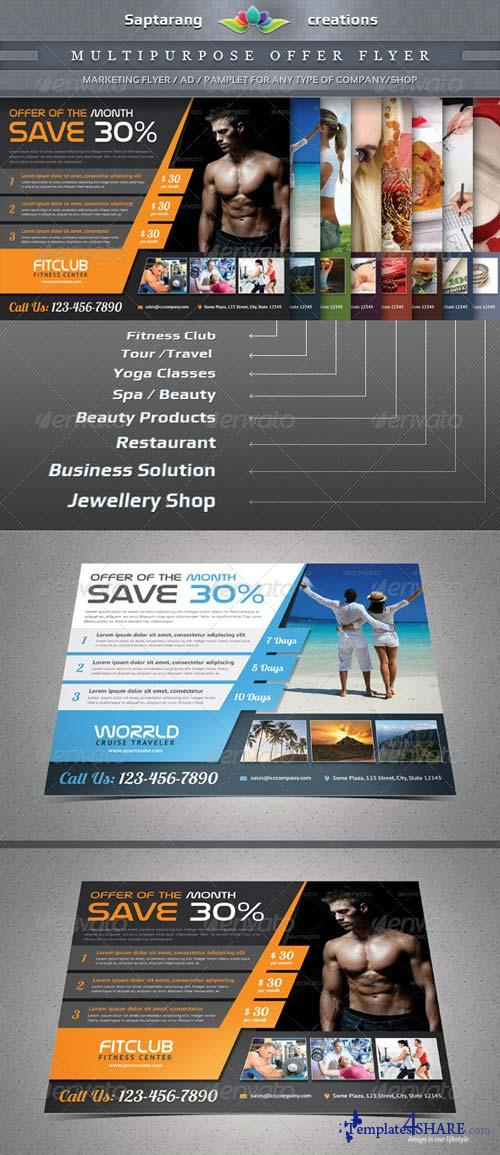 GraphicRiver Multipurpose Product / Services Offer Flyer