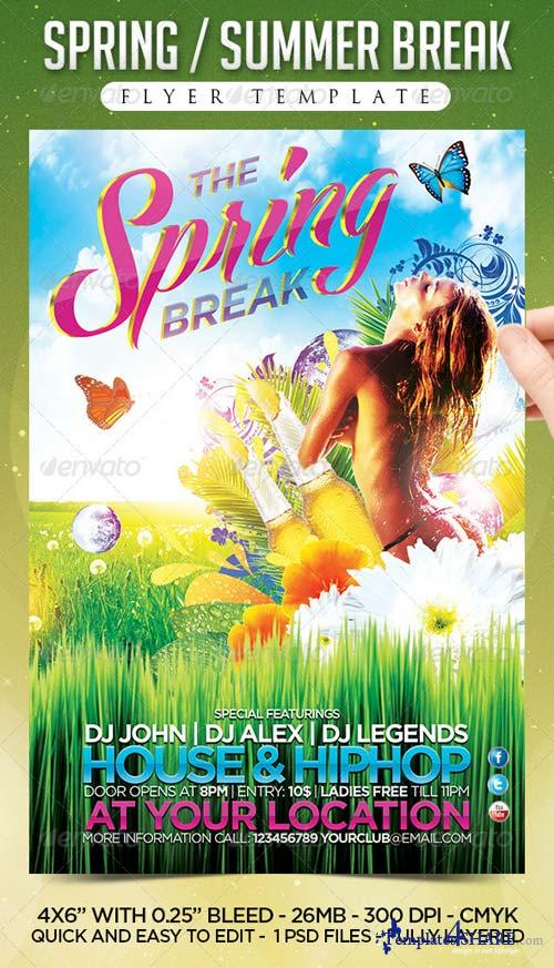 GraphicRiver Spring & Summer Brash