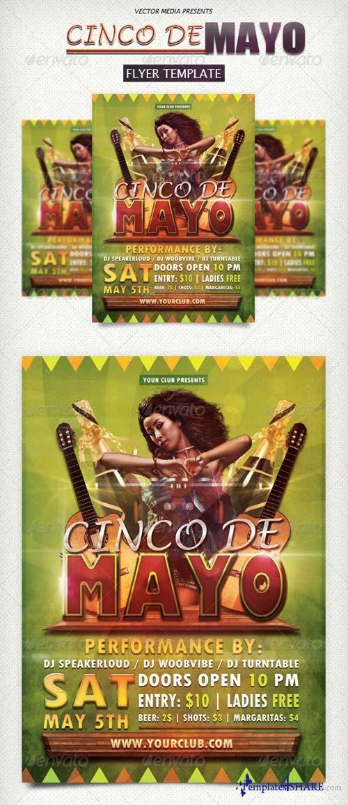 GraphicRiver Cinco De Mayo - Flyer