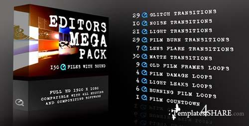 Editors Mega Pack - After Effects Motion Graphics (Videohive)