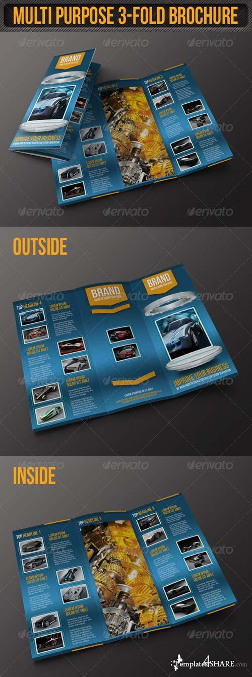 GraphicRiver Multi Purpose 3-Fold Brochure