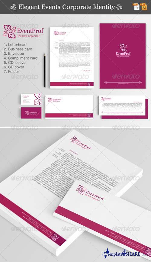 GraphicRiver Elegant Events Corporate Identity