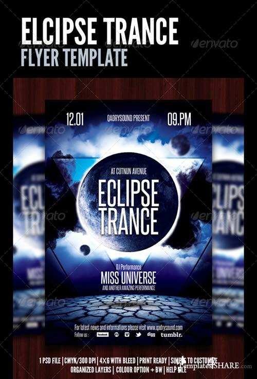 GraphicRiver Eclips Trance Flyer/Poster