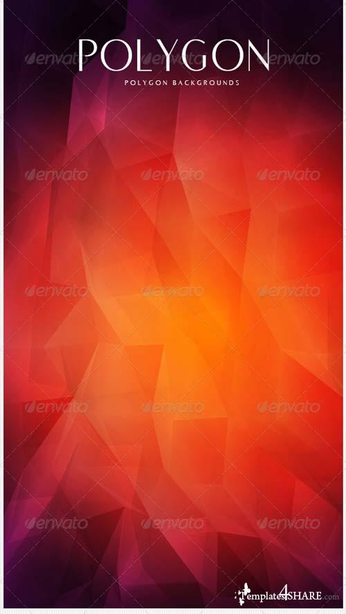 GraphicRiver Polygon Backgrounds