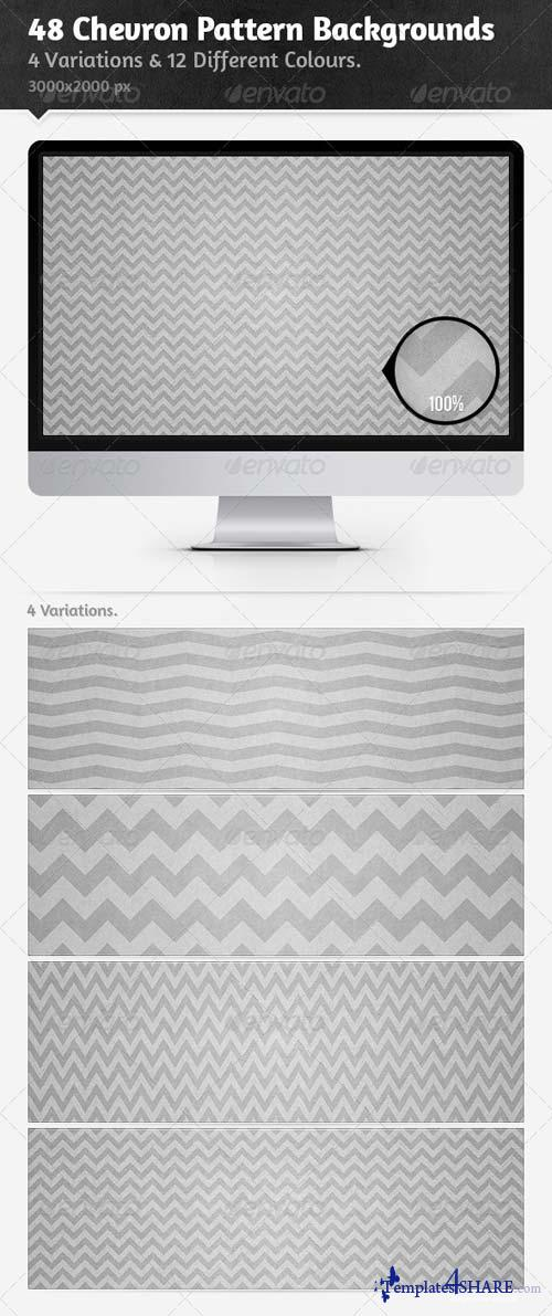 GraphicRiver 48 Chevron Pattern Backgrounds
