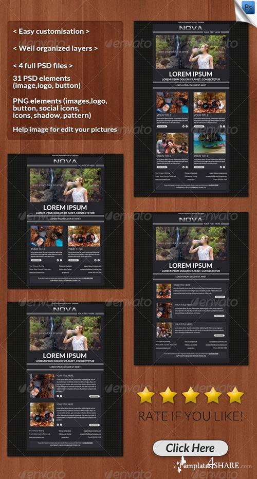 GraphicRiver Nova Email Template