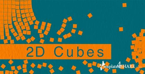 2D Cubes - After Effects Motion Graphics (Videohive)