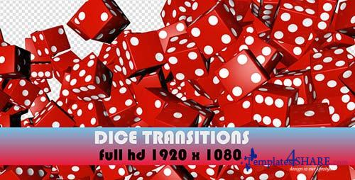 Roll The Dice Transitions (7-Pack) - After Effects Motion Graphics (Videohive)