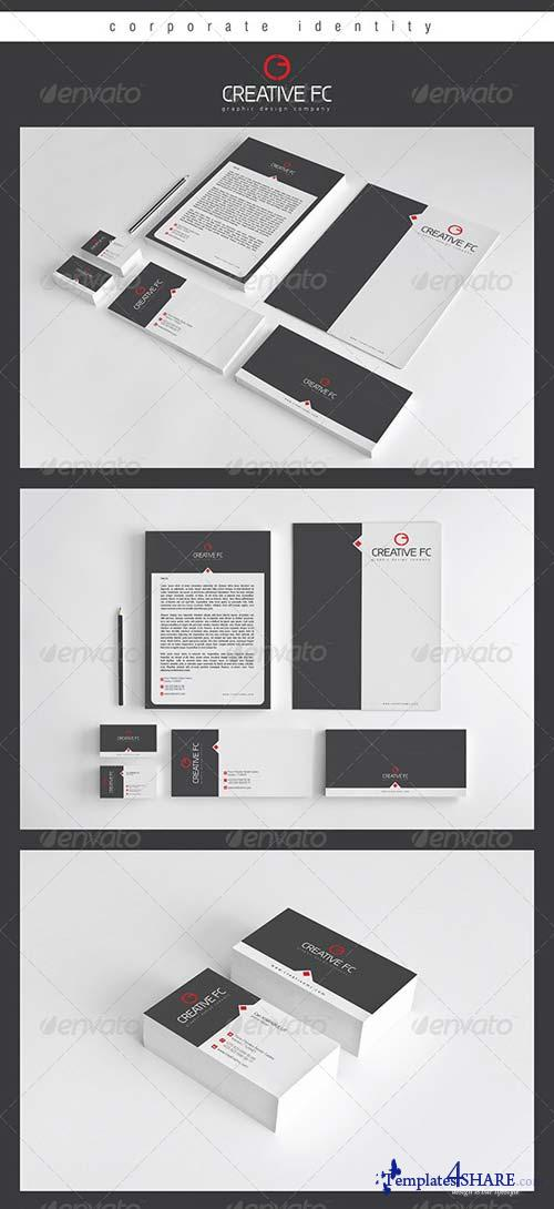 GraphicRiver Creative FC Corporate Identity Package