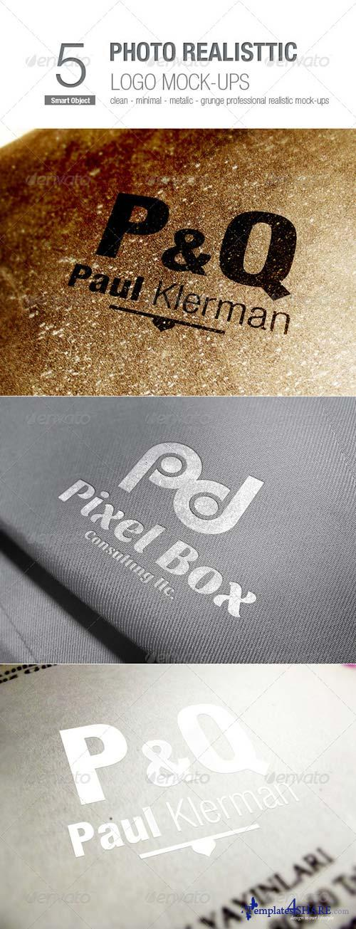 GraphicRiver Photo Realistic Logo Mock-ups